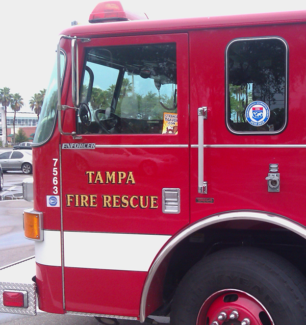 Strange Beaver-Tampa Firetruck