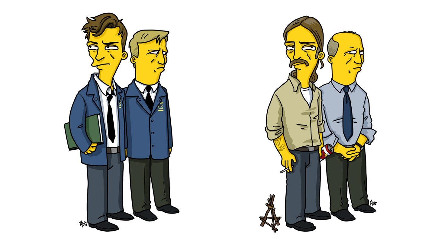 Famous TV And Film Characters Get Simpsonized – Strange Beaver